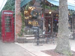 Skylark Cafe-Through Car Window